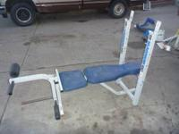 weight bench more heavy duty than most.leg attchment is