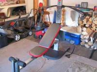 MAX XP 400 weight system exercise machine. Fiberglass