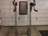 Parabody VKR/Chin/Dip/Pushup station. Extremely heavy