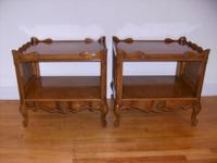For Sale - Pair of Weiman French Provincial End