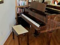 Weinbach Baby Grand Piano, acquired in 1998 and only