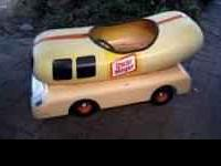 Up for sale is an original Oscar Mayer Weiner peddle