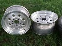 I have a full set of weld drag light rims universal lug