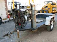 Welders Trailer $1,500 as is Built to handle Lincoln