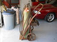 WELDING OUTFIT GAS (acc) (oc) gages 45ft hose welding