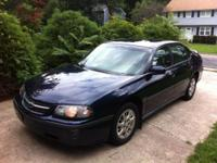 Midnight Blue well kept Chevy Impala, drives and runs