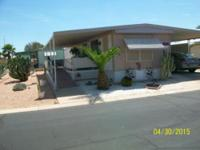 Well maintained, immaculate single wide Mobile Home for