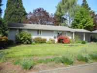 WELL MAINTAINED RANCH HOME Location: Forest Grove, OR