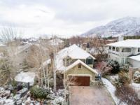 This home is nestled close to Big Cottonwood Canyon and