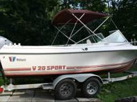 1990 Wellcraft V20 w / Cuddy Cabin, 2000 Yamaha V6 150