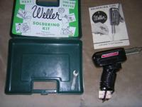 Weller 8200-N Soldering Gun 100/140 Watt dual heat with