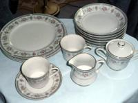 This is a lot of 14 pieces of Wellin china in the