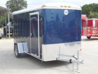 New 2015 Wells Cargo Road Force 6 X 12 Cargo Trailer