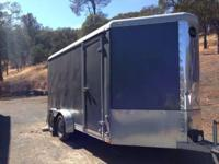 21ft. Wells Cargo trailer. Electronic brakes, ties