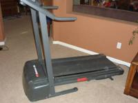 This is a Weslo Cadence 78s Treadmill.  It is in good