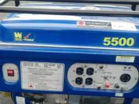 WEN Power Generator, Model 5500, 13 Horsepower,