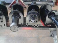We have hydraulic wenches for sale, great for crab and