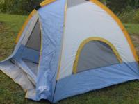 We bought the tent this summer and used it once, it is