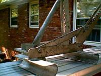 Ladder Jacks are used on extension ladders for