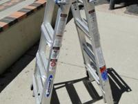 Werner MT-17 Aluminum Folding Step Extension Ladder
