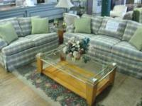 For sale we have an amazing living room set by Wesley