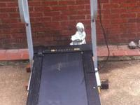 Wedlock Cadence treadmill works for walking or running.