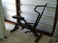 "Cardio Glide Exercise Equipment Dimensions: 50"" Long x"