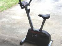 Weslo Pursuit 795i exercise bike This is a low impact