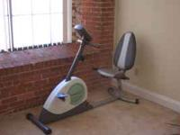 WESLO Stationary bike for sale $100.00 Had it for about