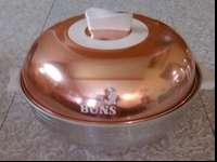 This is a great vintage bun warmer from West Bend. It's