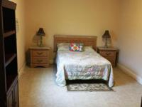 Large furnished bedroom in Centrally located in