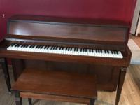 Westbrook piano in need of cosmetic repairs both