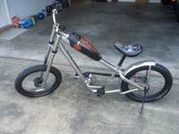 For sale, West Coast Chopper Jesse James kid's bike.