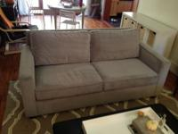 We're selling our 1.5 year old West Elm Henry sofa, in