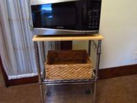 For sale is a WestBend microwave bought July 2014,