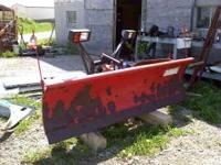 I have a 7'6'' Western Snow Plow. It is off my 1994