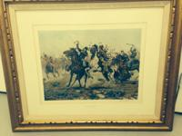 Very cool western lithographs by Vickers, Teague,