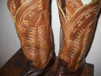 THE METHOD THEY WERE ... Vintage 1930's Tony Lama boots