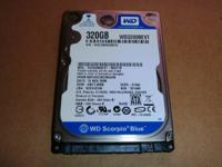 Western Digital Scorpio Blue 320GB (WD3200BEVT) 2.5
