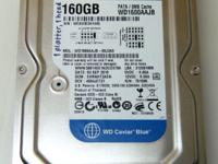 This is a used Western Digital hard drive with a PATA