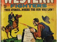 WESTERN FIGHTERS Vol 3 # 1 (1950) Hillman Publications