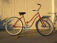 "1960's Style Western Flyer frame, 26"" wheels & coaster"