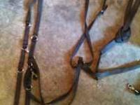 Nylon German martingale with split reins $20. Also have
