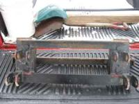 I have for sale a western snowplow unimount mount for a