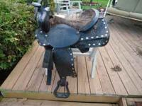 "I have a 15"" Western Saddle for sale. It is in pretty"