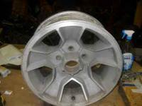 2 wheels 14x7 western uni lug fit many cars asking 65