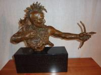 """The Deciding Moment"" Bronze (2 of 15) signed by artist"