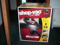 Shop Vac Quiet Plus Wet/Dry Vac New in Box. Never