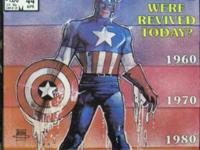 WHAT IF?# 44 Apr 1984 What If Capt America Were Revived