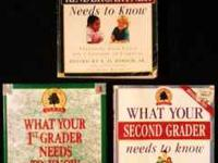 1. WHAT YOUR KINDERGARTNER NEEDS TO KNOW - Paperback 2.